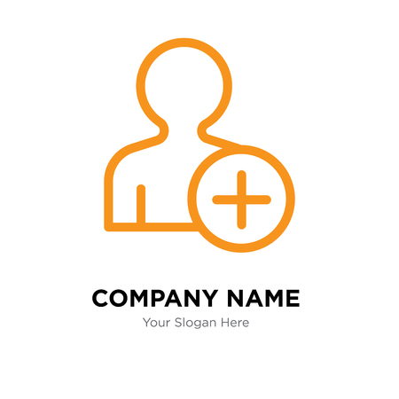 User company logo design template, User logotype vector icon, business corporative