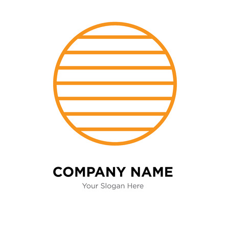 Disk company logo design template, Disk logotype vector icon, business corporative