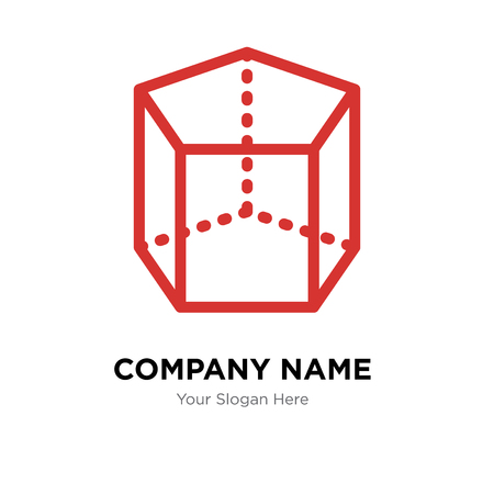 Cylinder company logo design template, Cylinder logotype vector icon, business corporative