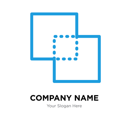 Exclude company logo design template, Exclude logotype vector icon, business corporative