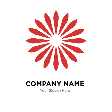 Loading company logo design template, Loading logotype vector icon, business corporative