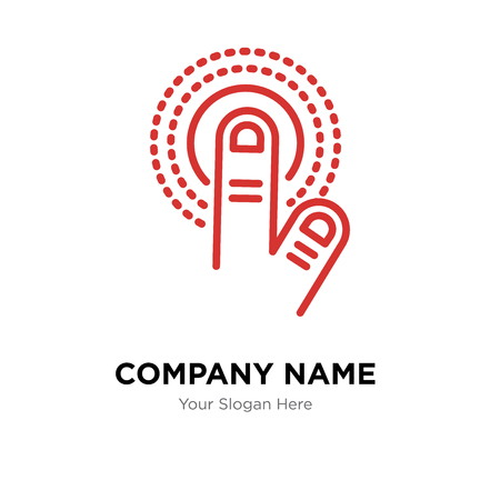Tap company logo design template, Tap logotype vector icon, business corporative Illustration