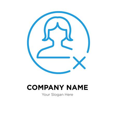 Modèle de conception de logo d'entreprise avatar, icône de vecteur de logo avatar, entreprise corporative Logo