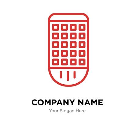 Remote control company logo design template, Remote control logotype vector icon, business corporative