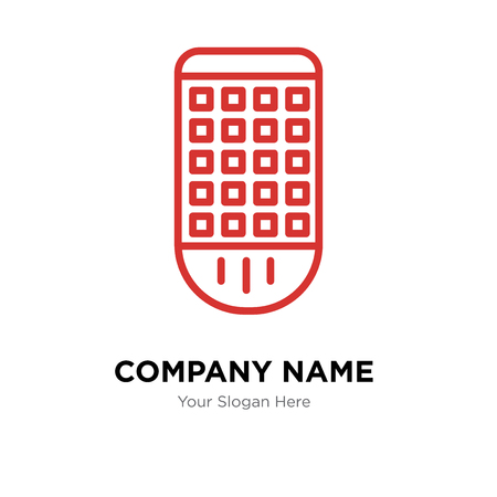 Remote control company logo design template, Remote control logotype vector icon, business corporative