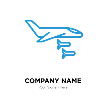 平面会社ロゴデザインテンプレート、プレーンロゴタイプベクトルアイコン、ビジネスコーポラティブ