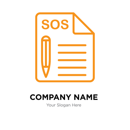 Support company logo design template, Support logotype vector icon, business corporative