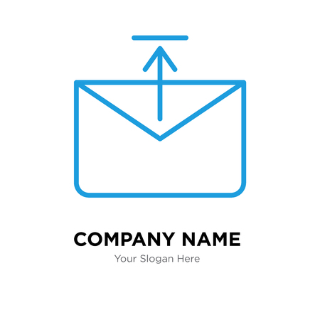 Outbox company logo design template, Outbox logotype vector icon, business corporative