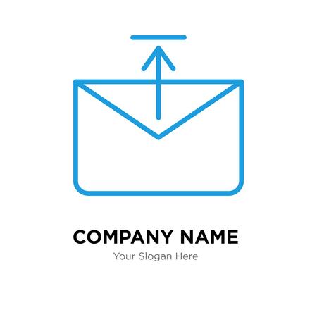 Outbox company logo design template, Outbox logotype vector icon, business corporative