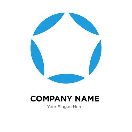 Loading company logo design template, Loading logotype vector icon, business corporative