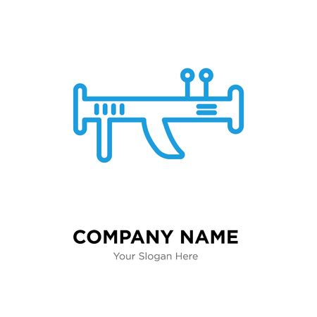 Bazooka company logo design template, Bazooka logotype vector icon, business corporative