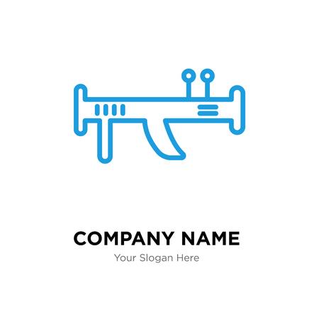 Bazooka company logo design template, Bazooka logotype vector icon, business corporative
