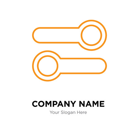 Switch company logo design template, Switch logotype vector icon, business corporative