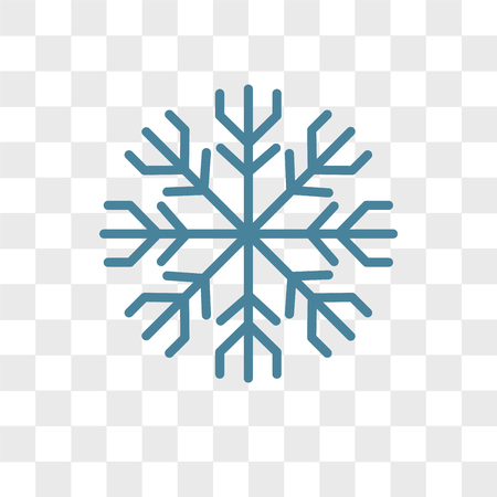 Frost vector icon isolated on transparent background, Frost logo concept