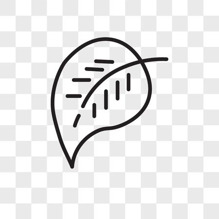 Elliptic vector icon isolated on transparent background, Elliptic logo concept