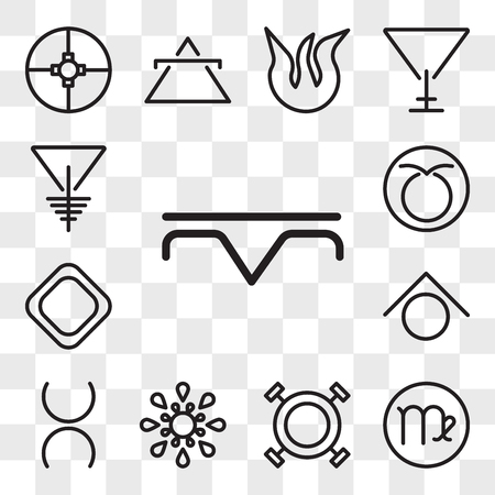 Set Of 13 transparent editable icons such as Precipitation, Virgo, Wax, Inequality, Tin, Zinc, Soap, Taurus, Soapstone, web ui icon pack, transparency set