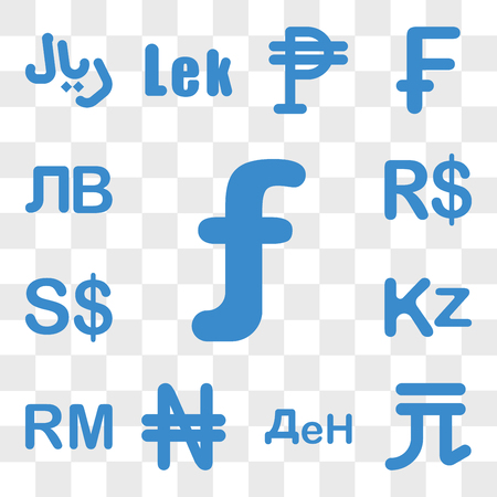 Set Of 13 transparent icons such as Aruba currency, Norway Macedonia Nigeria Malaysia Angola web ui editable icon pack, transparency