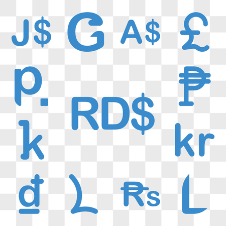 Set Of 13 transparent icons such as Dominican Republic currency, Honduras Nepal Lesotho Croatia Iceland web ui editable icon pack, transparency