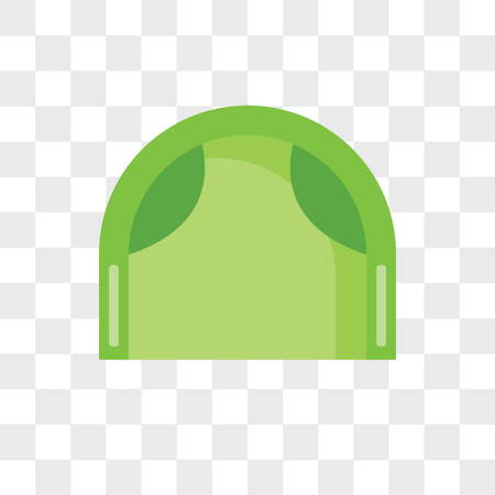Armchair vector icon isolated on transparent background, Armchair logo concept