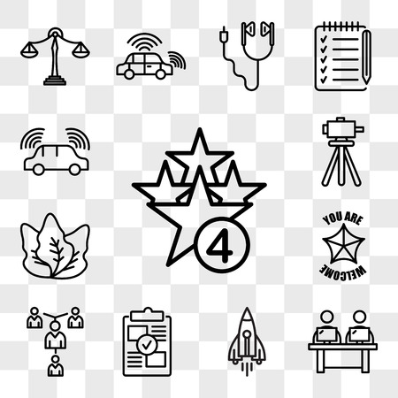 Set Of 13 transparent icons such as cod, coworking space, stellar lumens, proof of concept, mentorship, you are welcome, kale, surveyor, web ui editable icon pack, transparency set