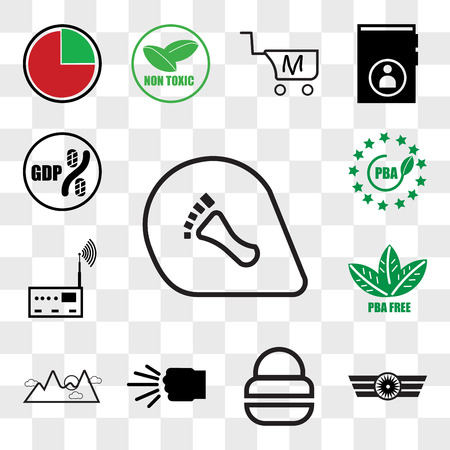 Set Of 13 transparent editable icons such as podiatry, Airforce, fire dept, fist bump, pinnacle, bpa free, rf, gdp, web ui icon pack, transparency set