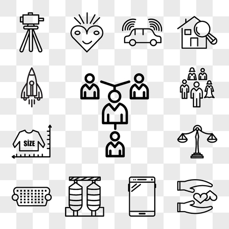 Set Of 13 transparent editable icons such as mentorship, loyal, , silos, vga, benchmarking, size chart, stellar lumens, web ui icon pack, transparency set