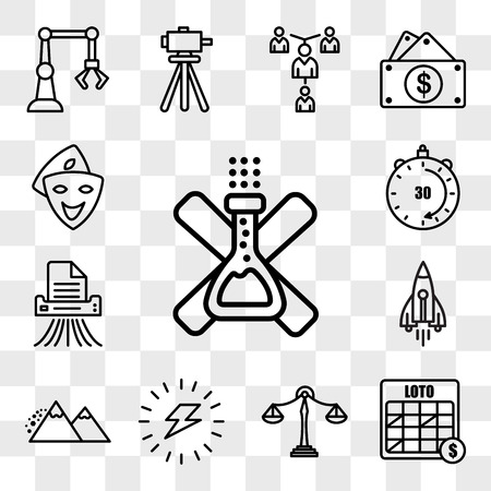 Set Of 13 transparent editable icons such as no preservatives, loto, benchmarking, energizing, avalanche, stellar lumens, shding, 30 minutes, cosplay, web ui icon pack, transparency set