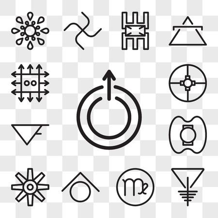 Set Of 13 transparent editable icons such as Uranus, Soapstone, Virgo, Zinc, Craftiness, Democracy, Aqua, Ingenuity, web ui icon pack, transparency set