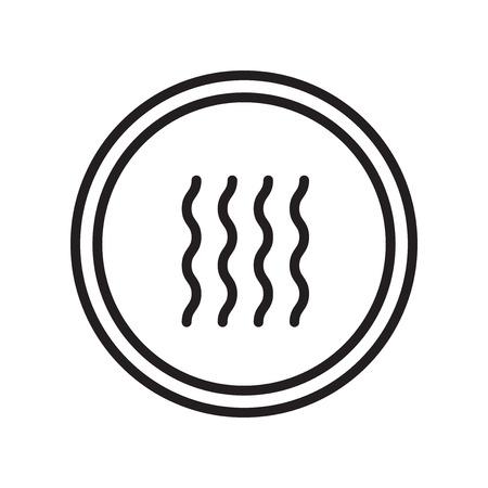 Trockener Ikonenvektor lokalisiert auf weißem Hintergrund, trockenes transparentes Zeichen