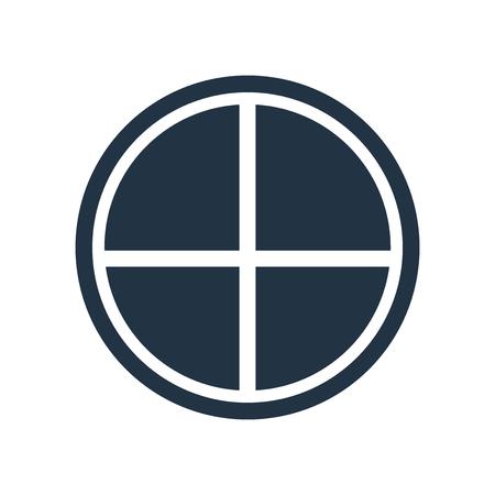 Life saver icon vector isolated on white background, Life saver transparent sign Vektoros illusztráció