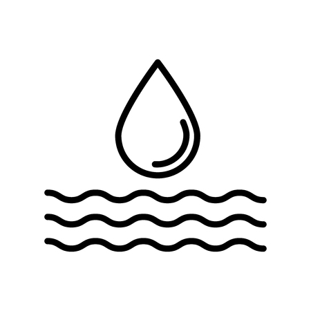 Watering icon vector isolated on white background, Watering transparent sign , line or linear design elements in outline style