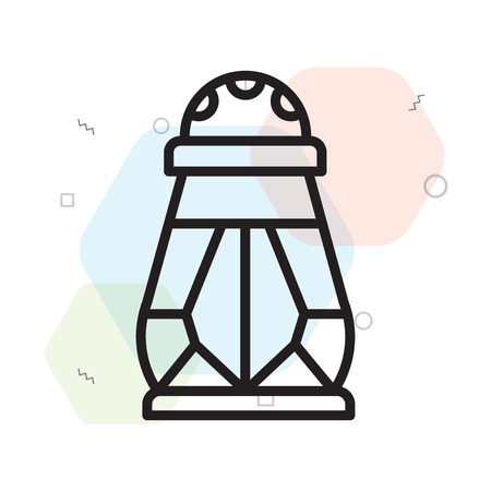 Salt icon vector isolated on white background for your web and mobile app design, Salt logo concept