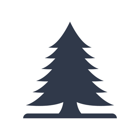 Pine icon vector isolated on white background for your web and mobile app design, Pine logo concept Imagens - 106757663