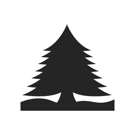 Pine icon vector isolated on white background for your web and mobile app design, Pine logo concept