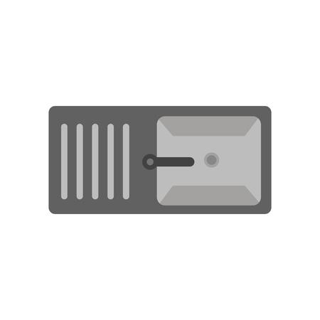 Vector icono de lavabo aislado sobre fondo blanco para su diseño web y aplicaciones móviles, concepto de logo de lavabo