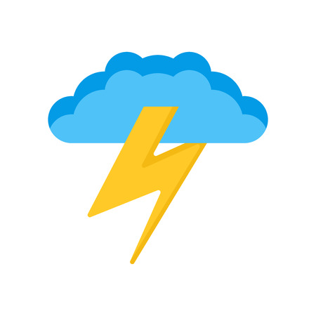 Storm icon vector isolated on white background for your web and mobile app design, Storm logo concept Ilustrace