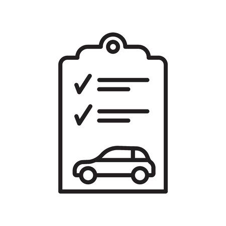 Inspectie pictogram vector geïsoleerd op een witte achtergrond voor uw web en mobiele app design, inspectie logo concept