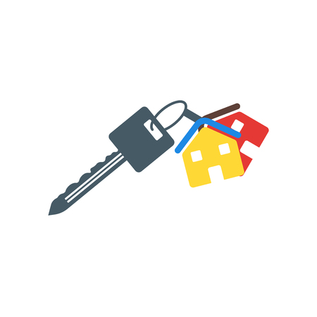 Key icon vector isolated on white background for your web and mobile app design, Key logo concept Illustration