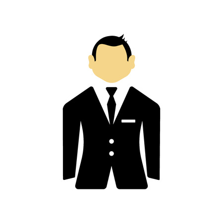 Groom icon vector isolated on white background for your web and mobile app design, Groom logo concept Standard-Bild - 106853217