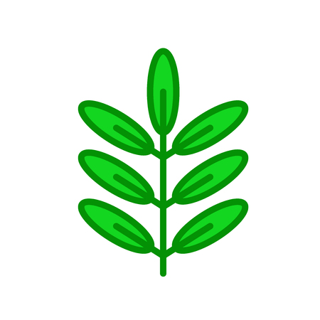 Acacia icon vector isolated on white background for your web and mobile app design, Acacia logo concept Ilustracja