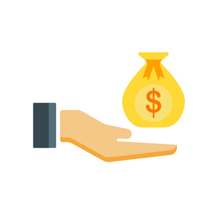 Bribery icon vector isolated on white background for your web and mobile app design,