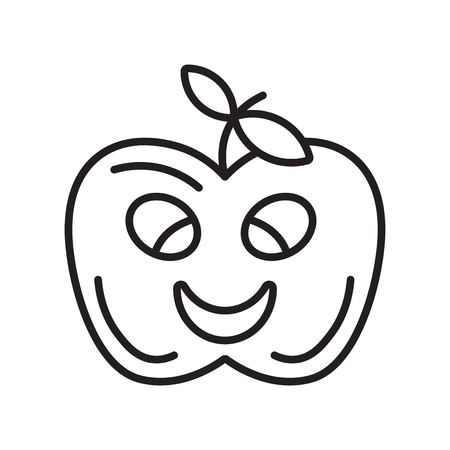 Apple icon vector isolated on white background for your web and mobile app design