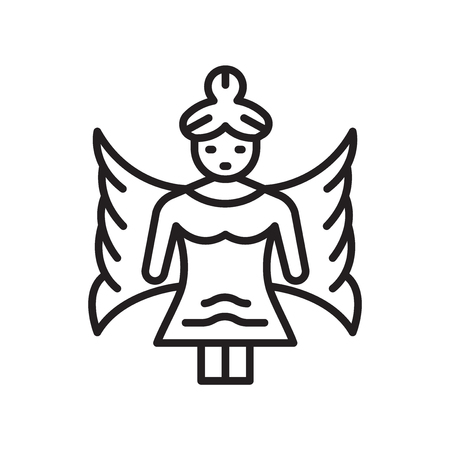 Fairy icon vector isolated on white background for your web and mobile app design