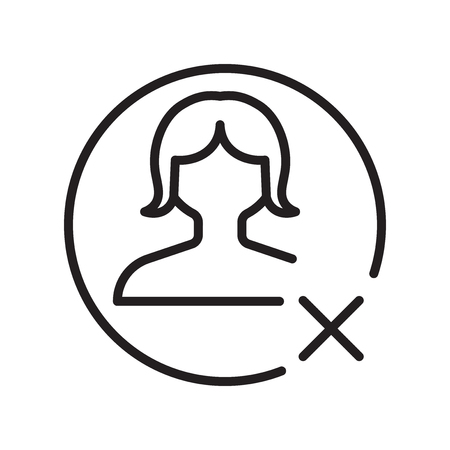 Vecteur d'icône avatar isolé sur fond blanc pour la conception de votre application web et mobile