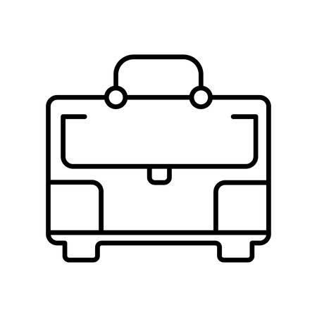 Toolbox icon vector isolated on white background for your web and mobile app design