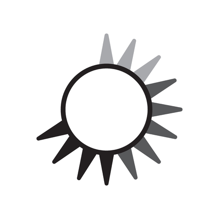 Loading icon vector isolated on white background for your web and mobile app design Çizim