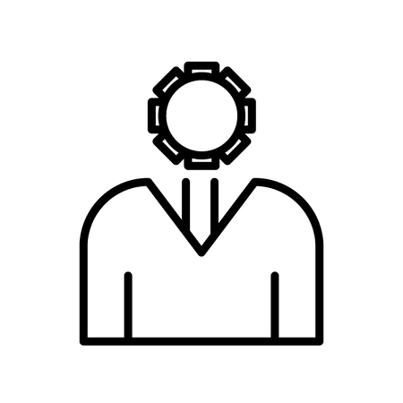 Administrator icon vector isolated on white background for your web and mobile app design, Administrator logo concept 写真素材 - 107446074