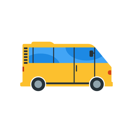 Bus icon isolated on white background for your web and mobile app design