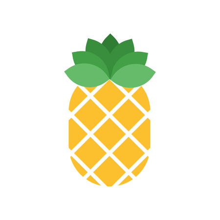 Pineapple icon isolated on white background for your web and mobile app design