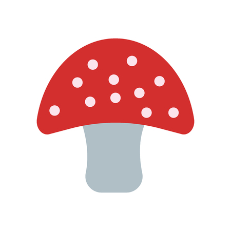 Mushroom icon isolated on white background for your web and mobile app design